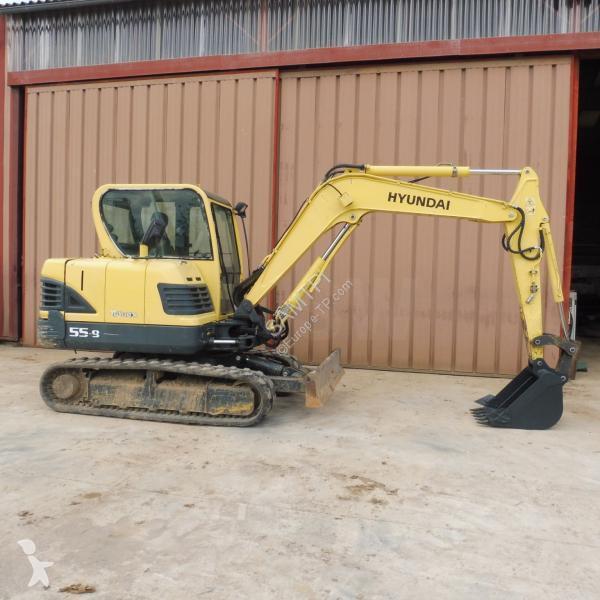 Hyundai ROBEX 55-9 excavator