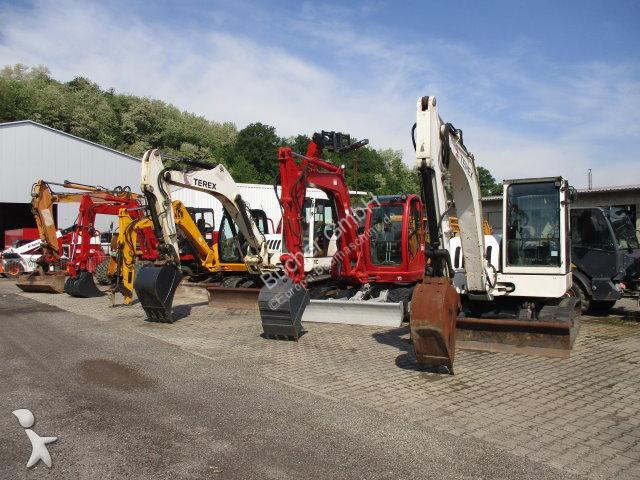Escavatore Terex - JCB - Hyundai - IHI etc