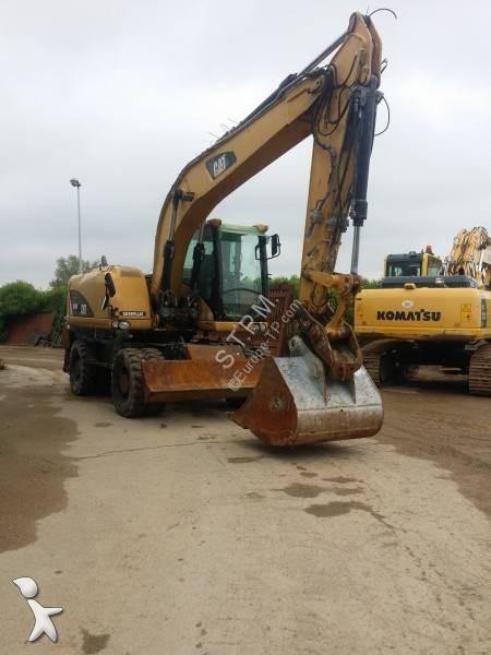 Caterpillar M 316D excavator