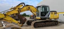 New Holland track excavator