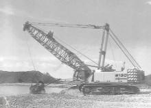 pelle Sennebogen SENNEBOGEN6130HD – Serie B Dragline excavator and crane