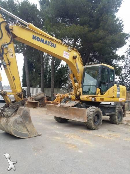 Komatsu pw 180 es7-eo excavator