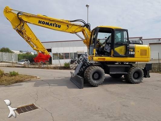 Komatsu pw180-7EO excavator