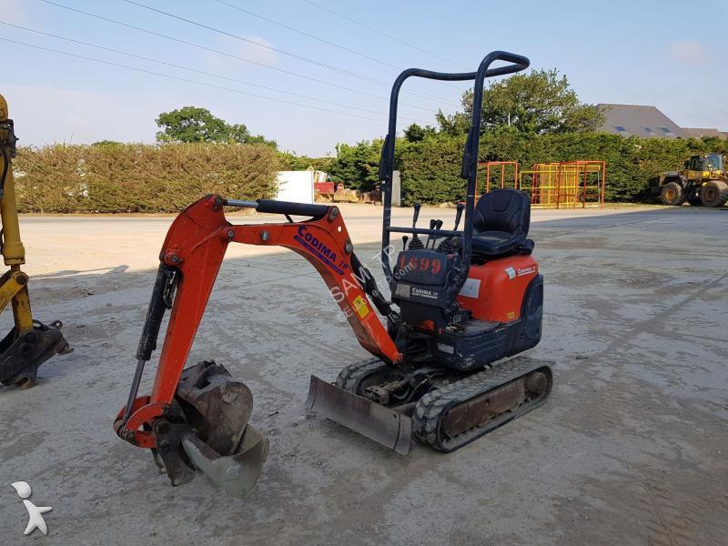 Kubota Series KX KX008-3 excavator