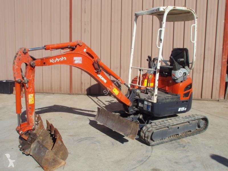 Kubota Series U 15 excavator