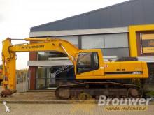 Hyundai rail excavator