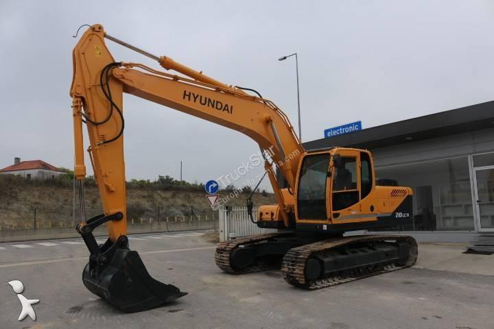 Escavadora Hyundai ROBEX