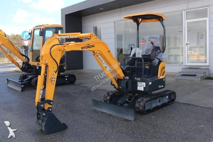 Escavadora Hyundai Robex 17Z-9A