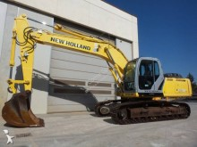 New Holland track excavator