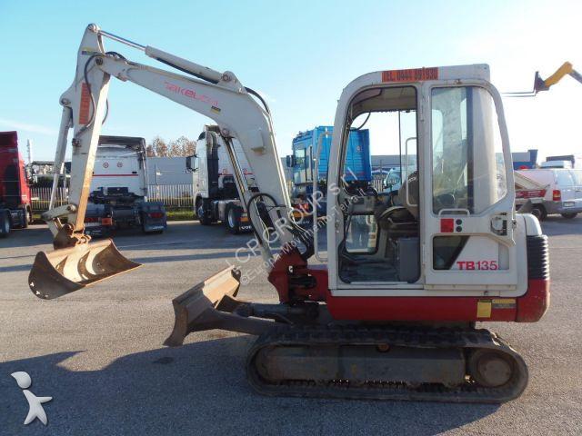 Escavatore Takeuchi TB135 MINIESCAVATORE CINGOLATO