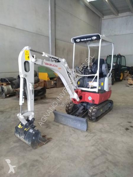 Takeuchi TB215R excavator