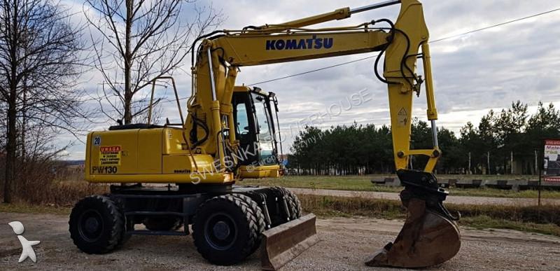 Komatsu -PW 130 excavator