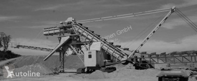 pelle nc Continious bucket dredger on tracks