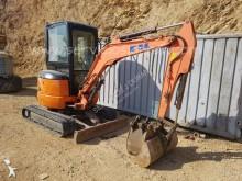 Fiat Kobelco mini excavator
