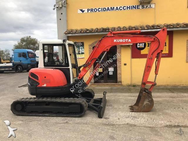 Escavatore Kubota