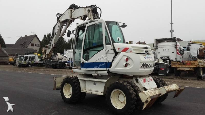 Mecalac 714 *ACCIDENTE*DAMAGED*UNFALL* excavator