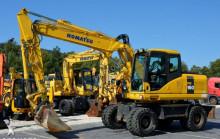 excavadora Komatsu PW 160 -7 / 16 Ton / Pług / Szybkozłącze