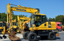 excavadora Komatsu PW 160 -7E0 / 16 Ton / Pług