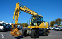 excavadora Komatsu PW 160 -7 / 16 Ton / Pług