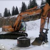 excavator pe şenile Case
