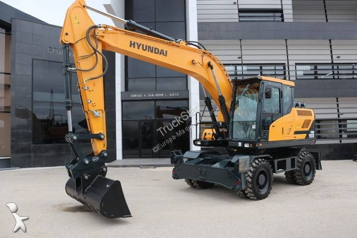 Escavadora Hyundai HW 160