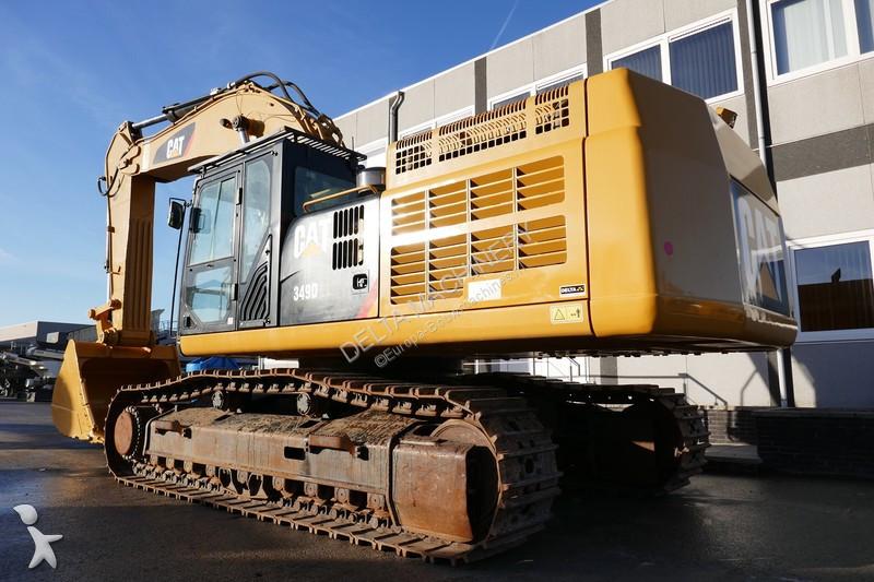 Caterpillar 349D2L excavator