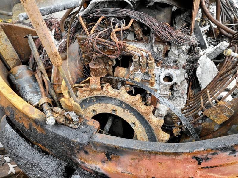 Pelle Volvo EC27D *BRULEE*BURNED*VERBRANNT*