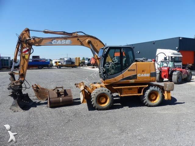 View images Case excavator