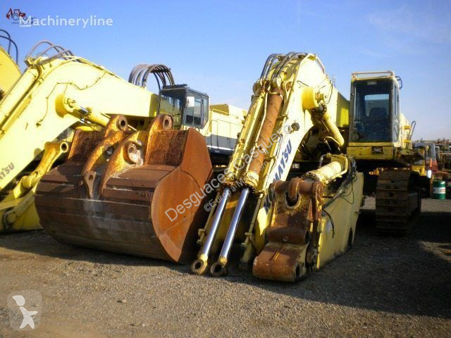 View images Komatsu PC 750SE excavator