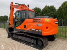 Doosan track excavator