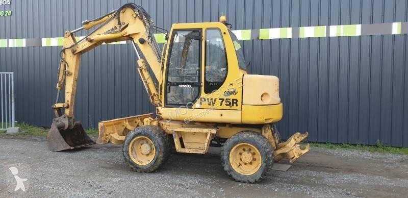 查看照片 挖掘机 小松 PW 75R