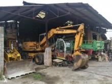 excavadora de ruedas usado