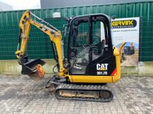 Caterpillar mini excavator