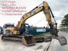 Caterpillar 319 DL SORTEERGRIJPER - ROTOTILT BUCKET - SORTIERGREIFER - GRAPPIN - 5771 Hours - + 2 EXTRA BUCKETS - CENTRAL LUBRIFICATION - CL
