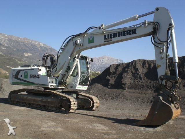 liebherr escavatore  Escavatore cingolato Liebherr A924CLitronic R924C HDSL usato - n°522427
