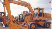 Case-Poclain wheel excavator