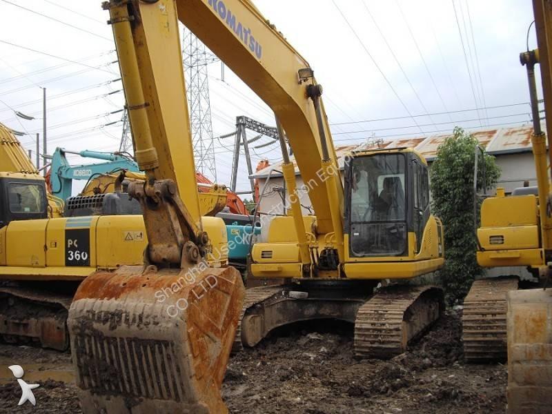 View images Komatsu PC210-7 excavator