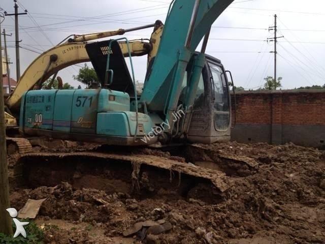 Track excavator Kobelco used