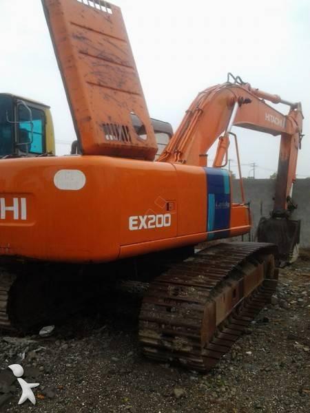 Se fotoene Skovl Hitachi EX200