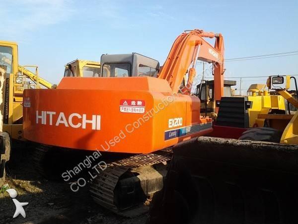 Se fotoene Skovl Hitachi EX200LC