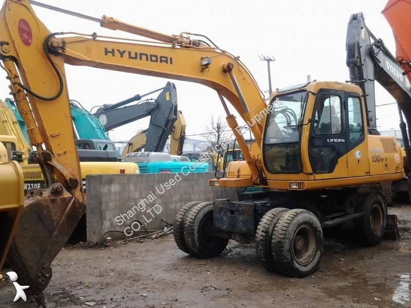 Hyundai R130W-5 excavator