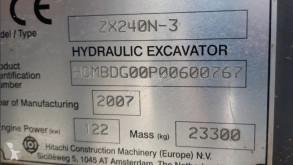 Vedere le foto Escavatore Hitachi ZX240N