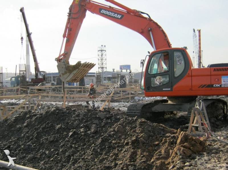 Used doosan dx225 lca track excavator n 1214218 for Lca construction