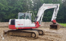 View images Takeuchi TB1140 excavator