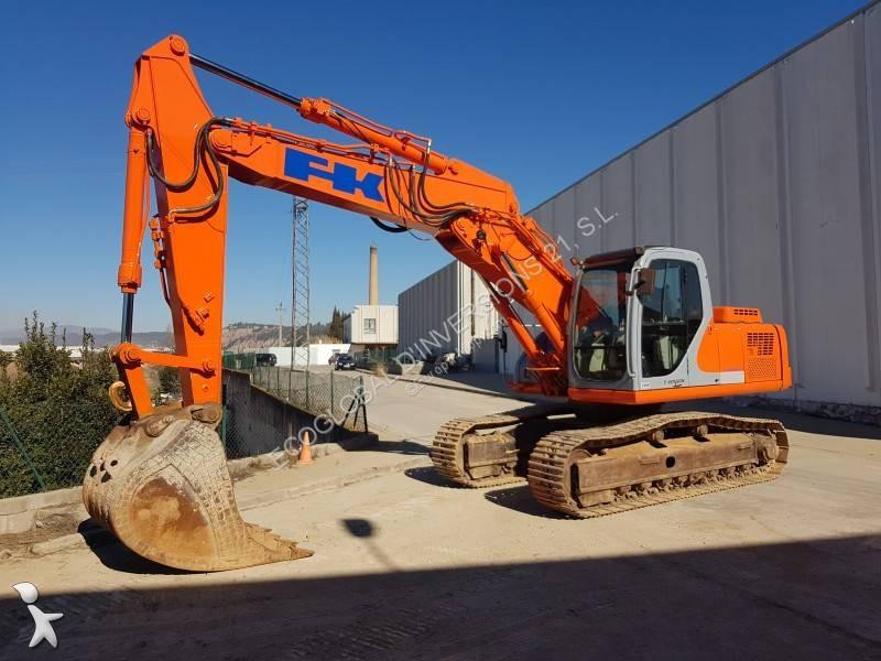 excavadora de cadenas fiat-hitachi e235 usada