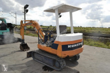 Vedeţi fotografiile Excavator Komatsu PC10-6