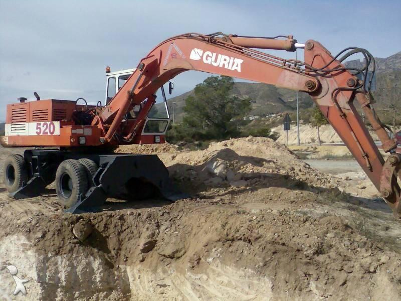 escavatori guria spagnoli anni 80/93 430516-excavadora_de_ruedas-guria