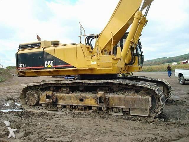Track excavator Caterpillar used