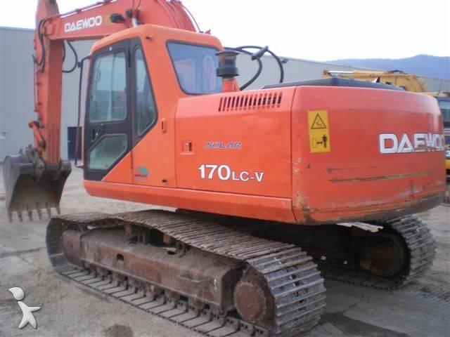 Used Daewoo Solar 170 LC track excavator 170 - n°300378
