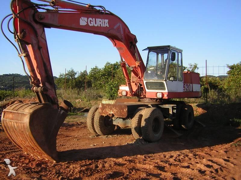 escavatori guria spagnoli anni 80/93 430516-excavadora_de_ruedas